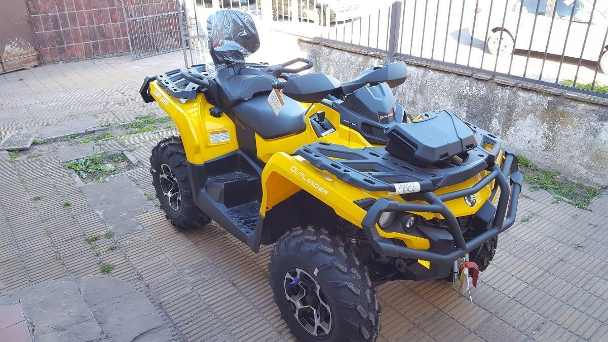 Can Am Outlander Máx Xt 650cc 2016 0km