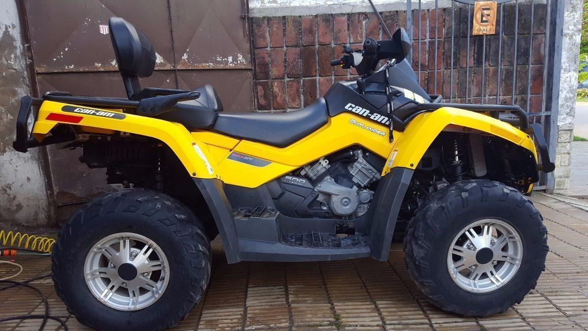 Can Am Outlander Max Xt 500cc 2011