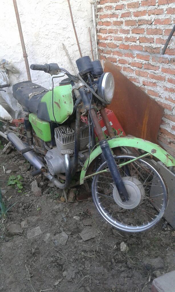 Vendo Moto 350 Jawa Escucho Oferta Repue