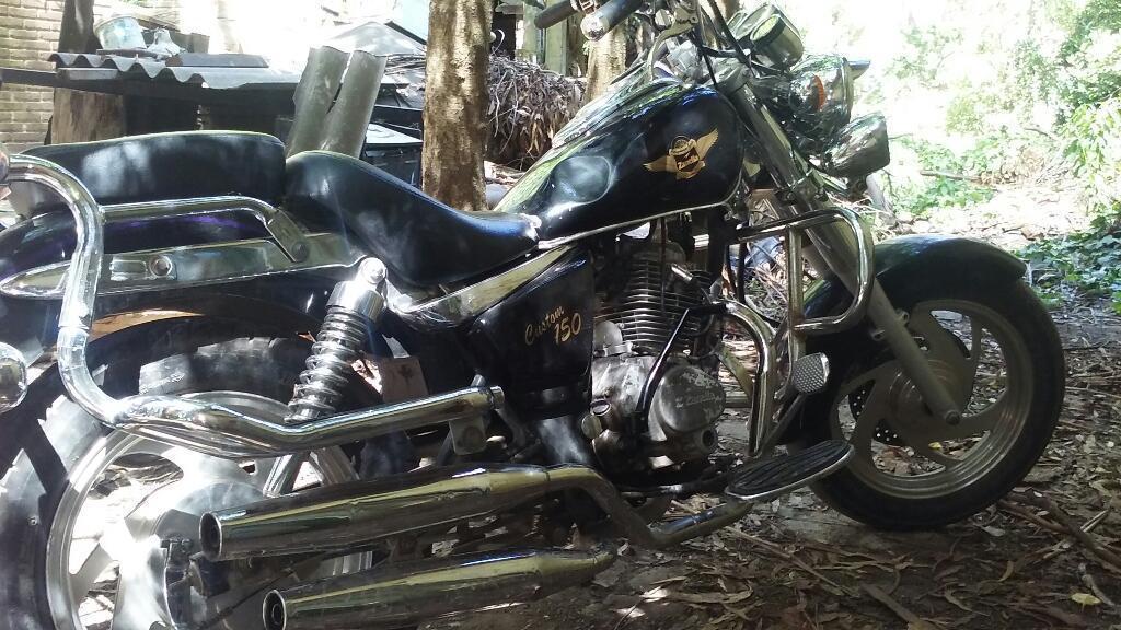 Vendo Zanella Custom Eagle 150