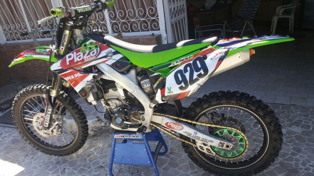 kxf 250 motor nuevo a estrenar completo 2012