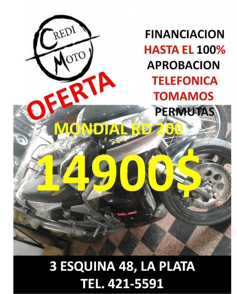 OFERTA MONDIAL RD 200 $14900