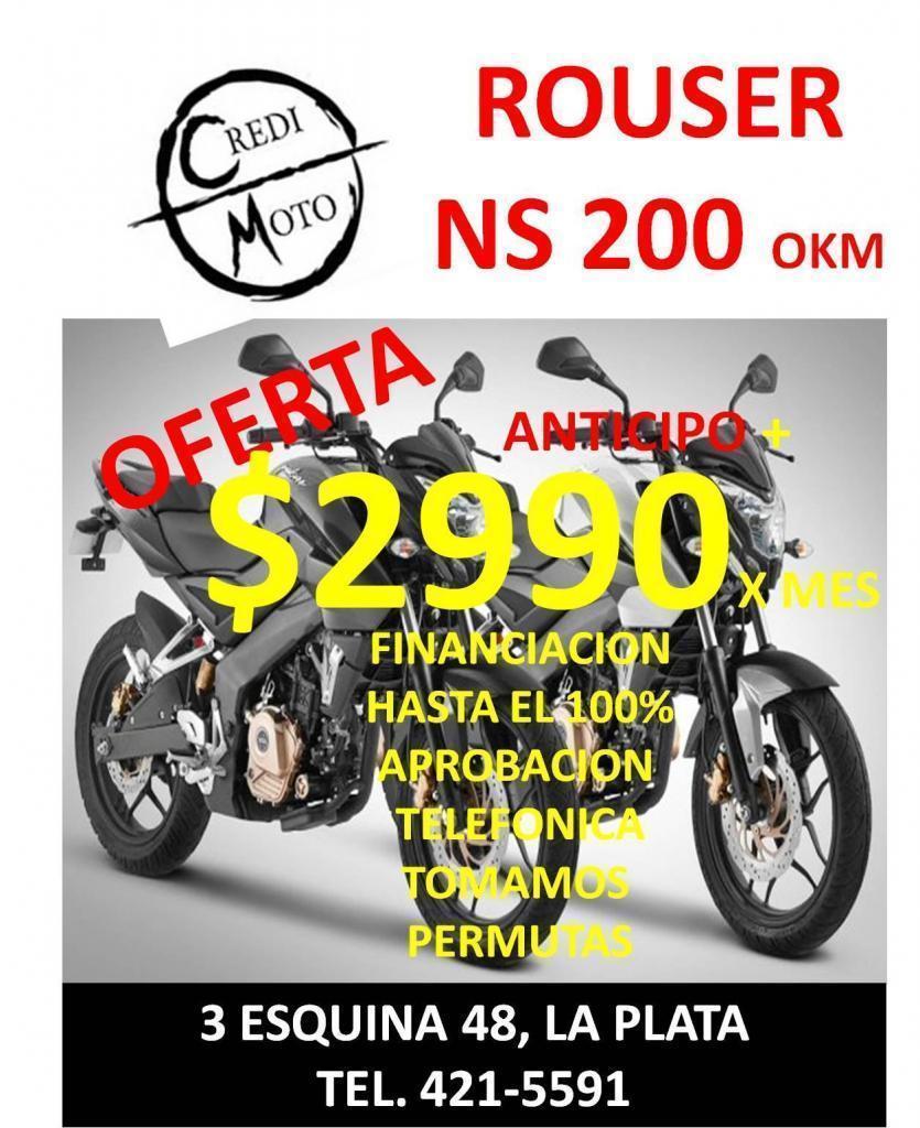 OFERTA ROUSER NS 200 $2990