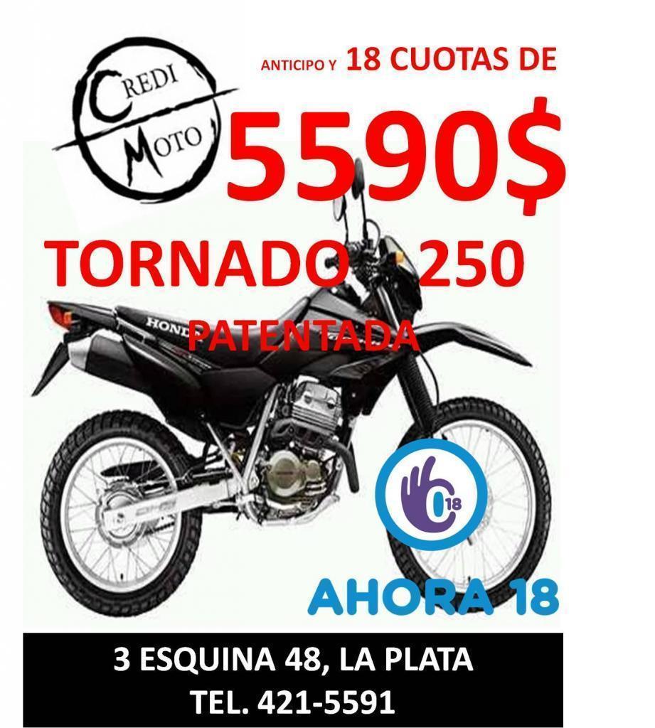 OFERTA TORNADO 250 $5590