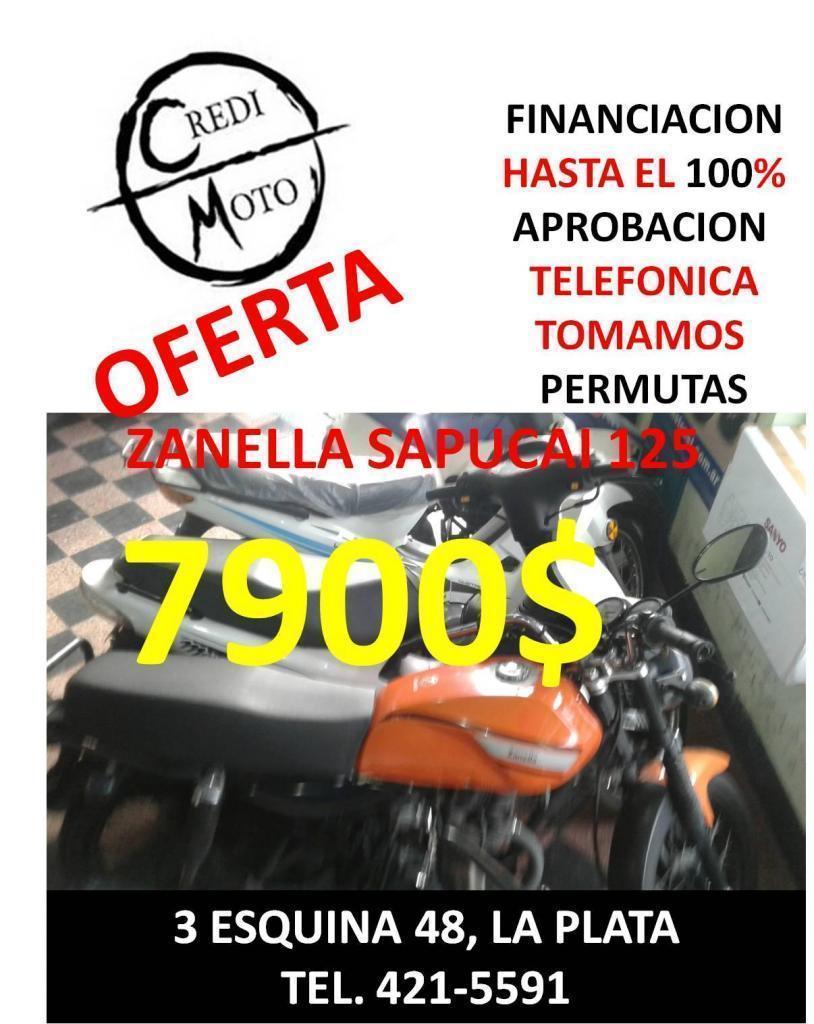OFERTA ZANELLA SAPUCAI 125 7900
