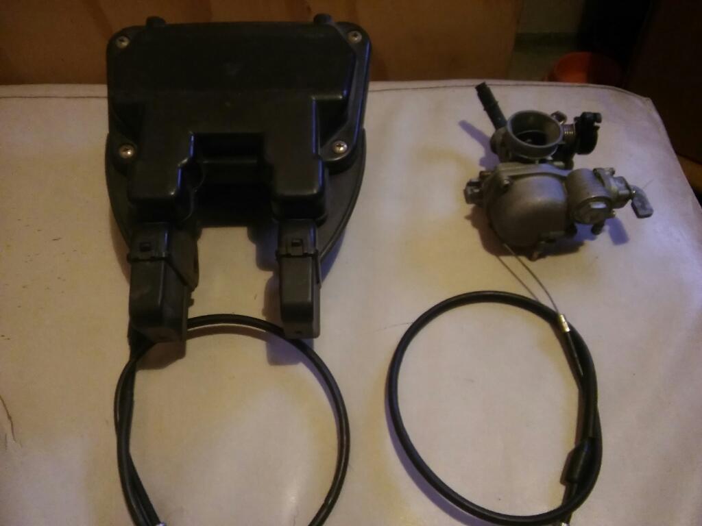 Carburador .filtro Y Cables para Motos