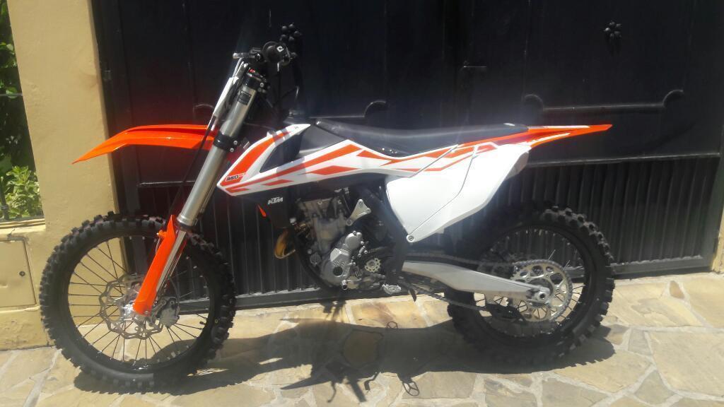 Vendo Ktm 350 2017