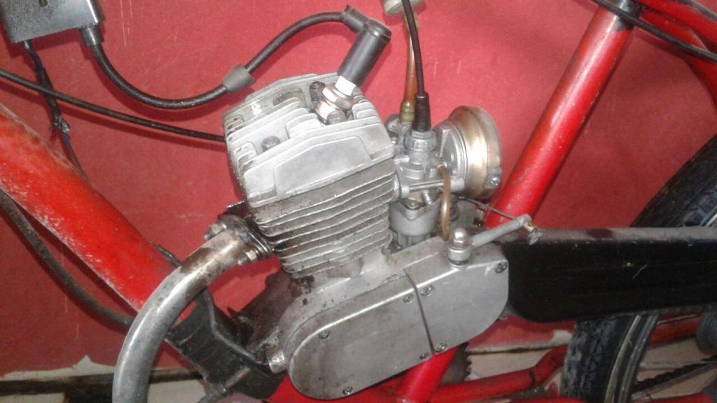 Bicimoto Motor 70cc