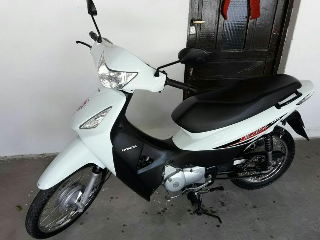 Vendo Honda Biz Modelo 2014