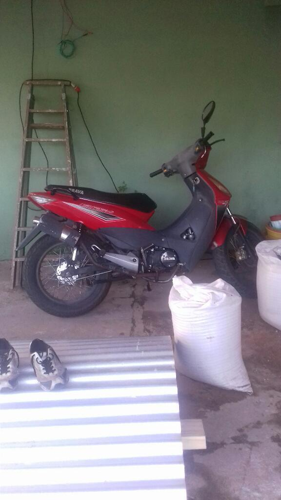 Vendo Moto Brava 125cc Modelo 2013