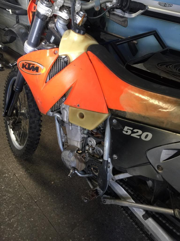 Ktm 520 2001