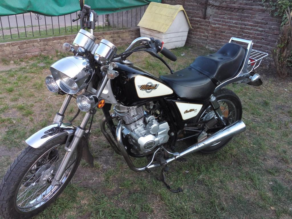 Vendo motomel custom 150