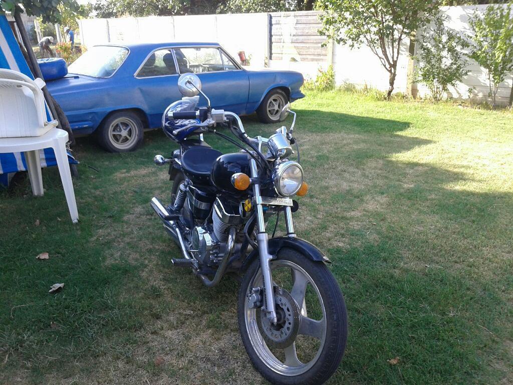 Vendo Moto Chopera Corven 256 Año 2013