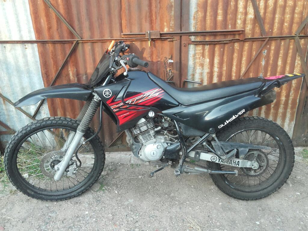 Yamaha Xtz 125 2009 con Escape Deportivo