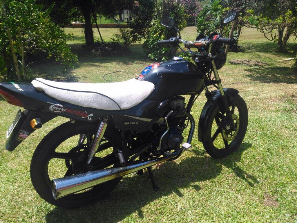 vendo moto mondial hd 150 modelo 2011