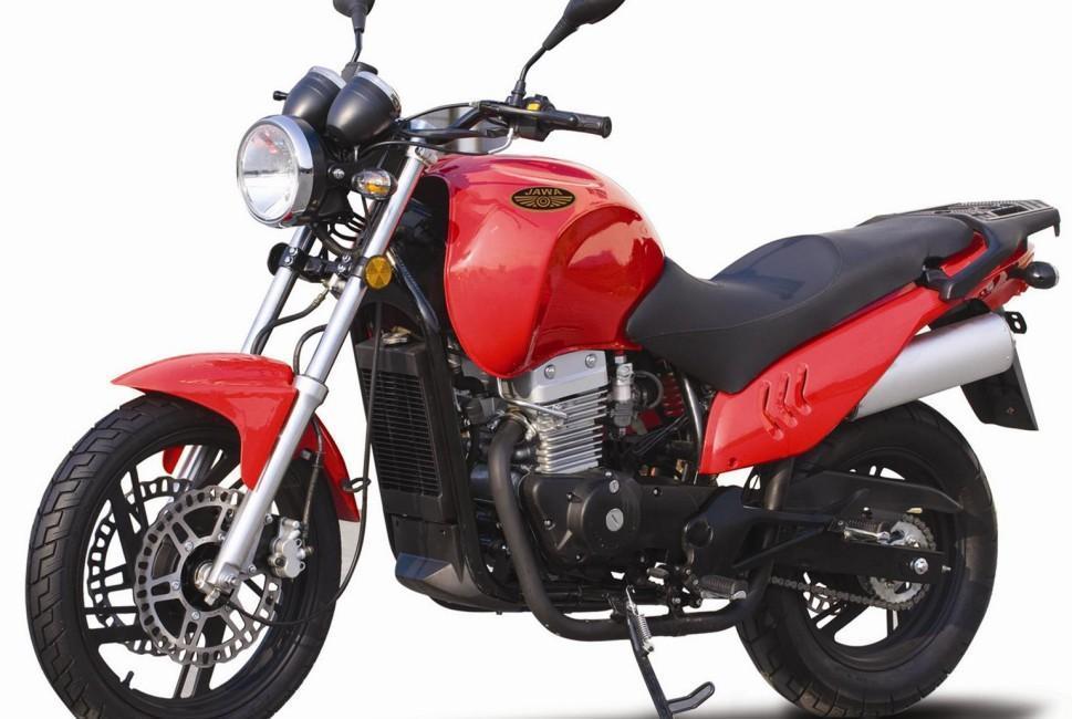 Jawa 350 2012 RUTA 40