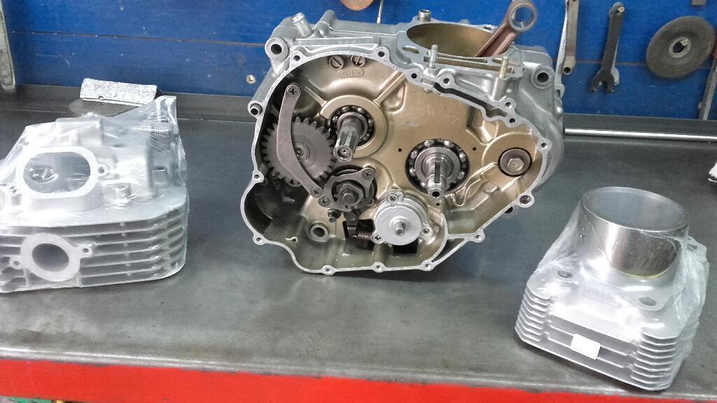 Dr 350 en El Mecanico Motor Nuevo