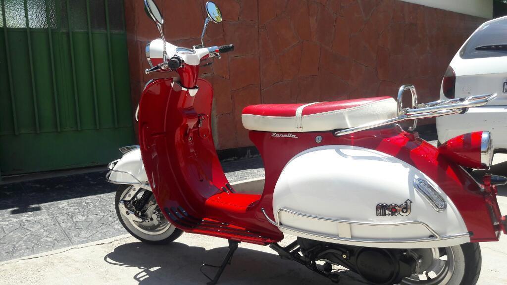 Vendo Zanella Mod Italy 150cc Impecable!