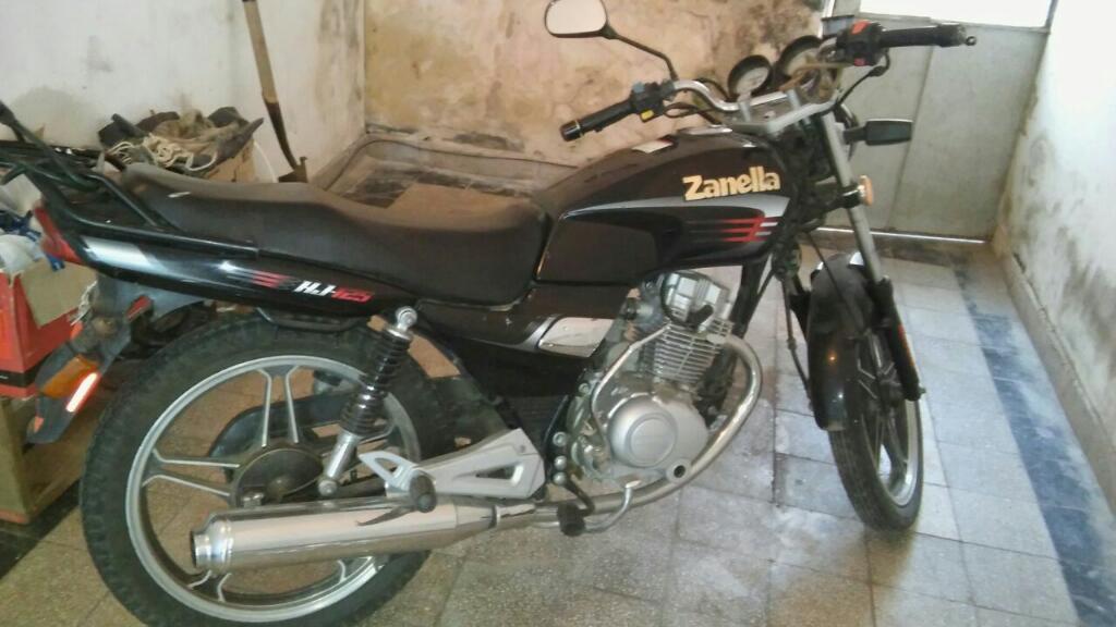 Zanella hj125 modelo 2010