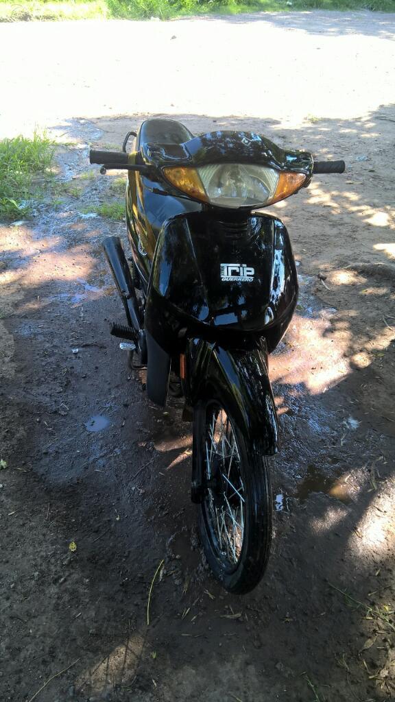 Liquido Moto Guerrero Trip Negro