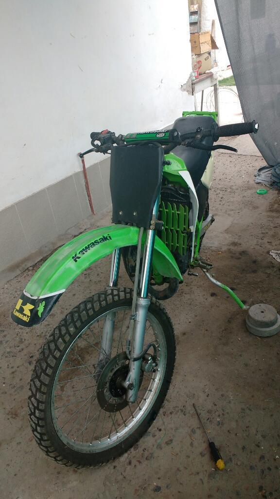 Vendo Kawasaki 125 2t