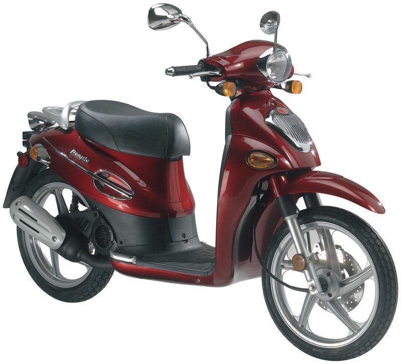 Moto Kymco People 50cc 2009 Impecable Estado Como Nueva