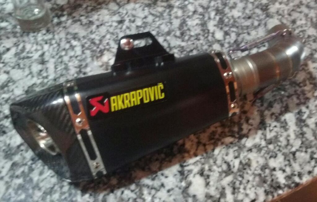 Escape Akrapovic Duke 200 390 Completo