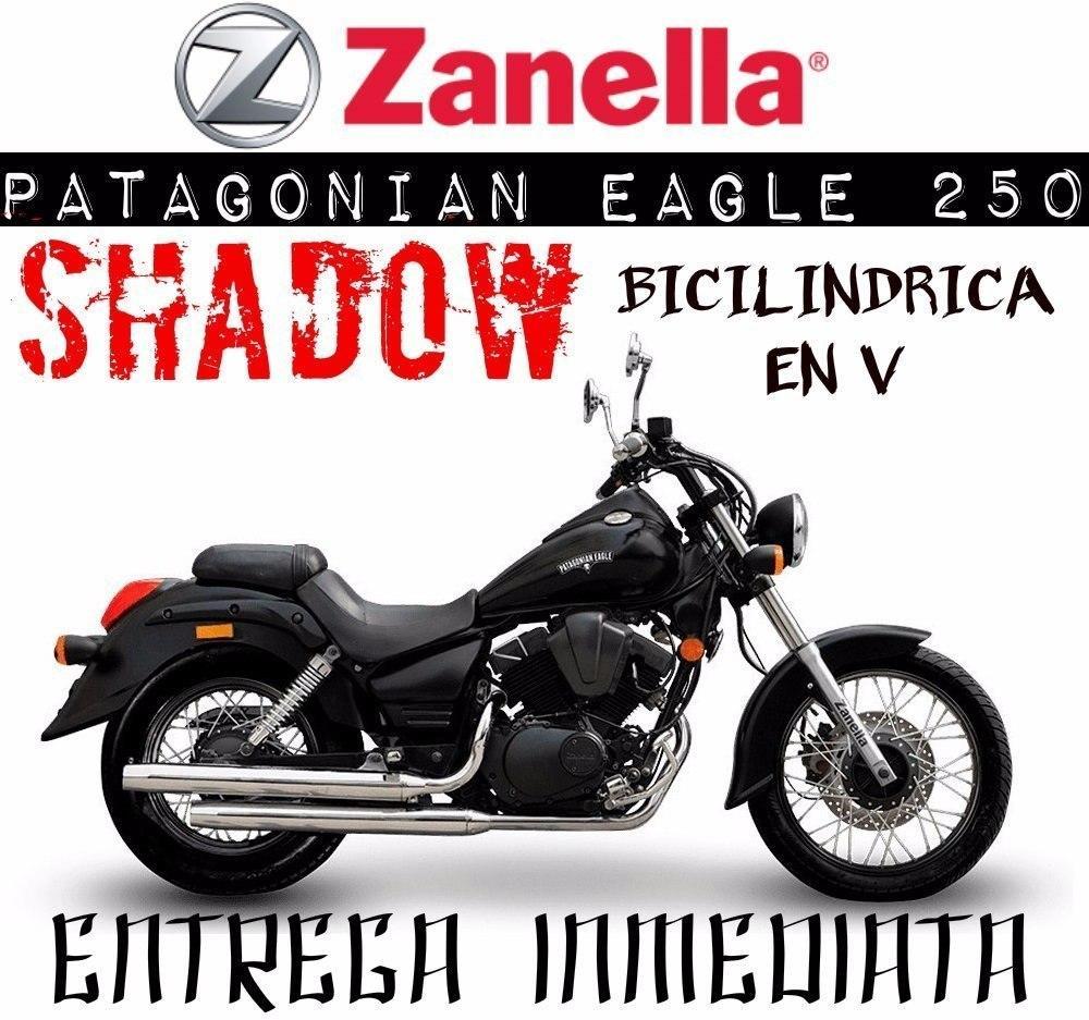Moto Zanella Patagonian Eagle 250 Shadow Motor En V 0km 2017