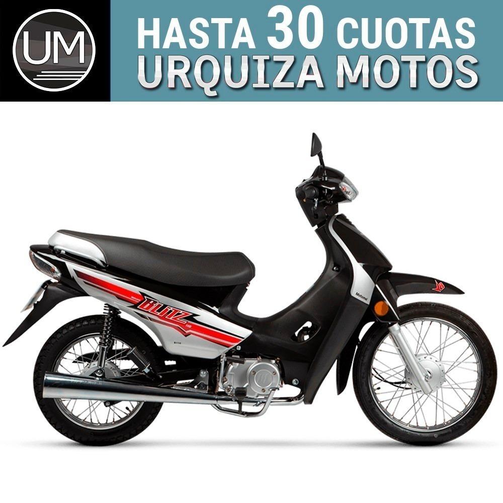 Moto Ciclomotor Motomel Blitz 110 V8 Base 12 Y 18 Cuotas