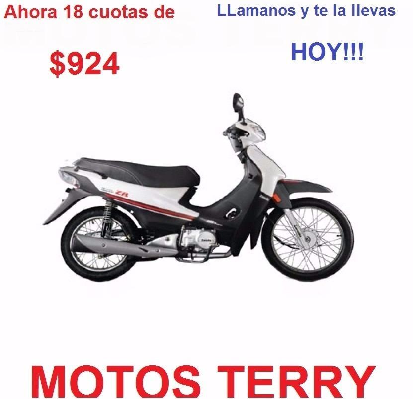 Moto Zanella Zb 110 Z1 0 Km 12 Cuotas
