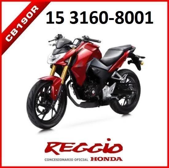 Honda Cb190 R 0km 2017 Reggio Motos