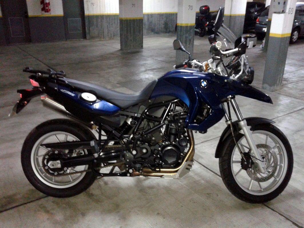 Bmw 650 Gs F 800 Bicilindrica U N I C A
