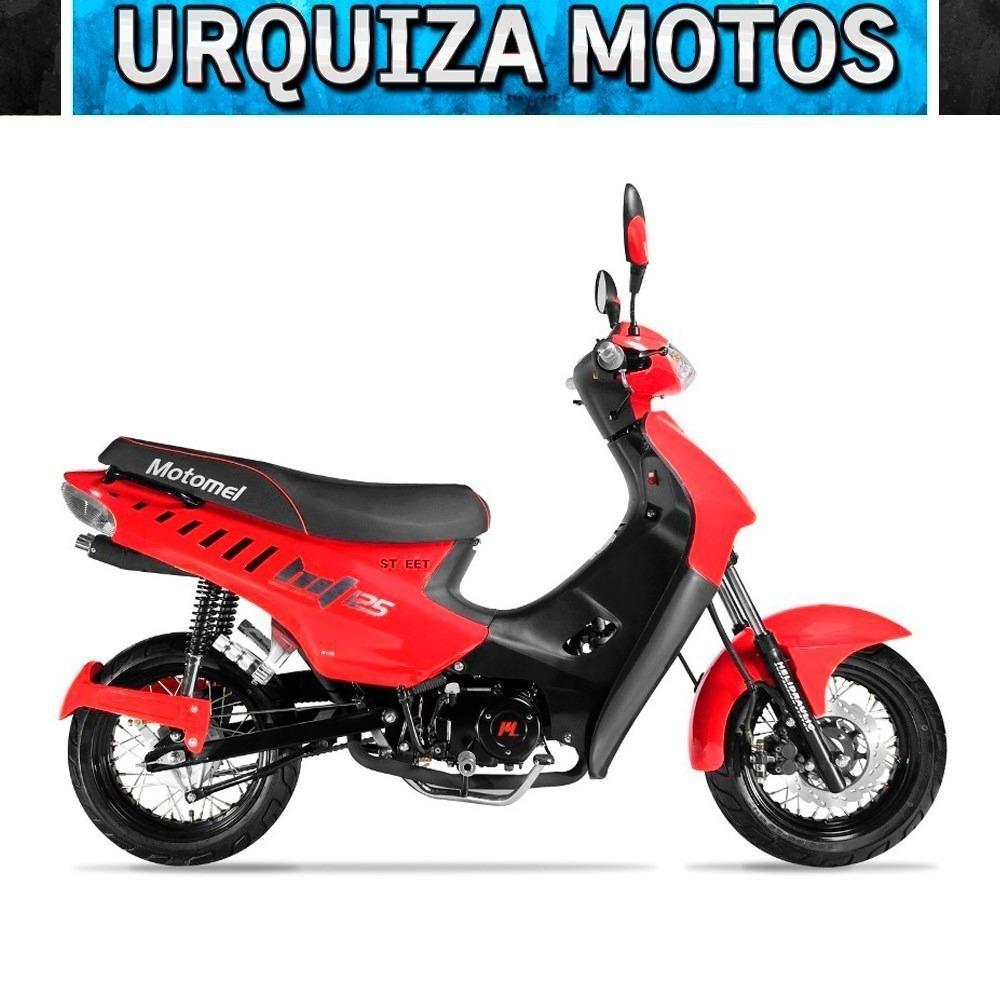 Moto Ciclomotor Motomel Blitz 125 Tunning 0km Urquiza Motos