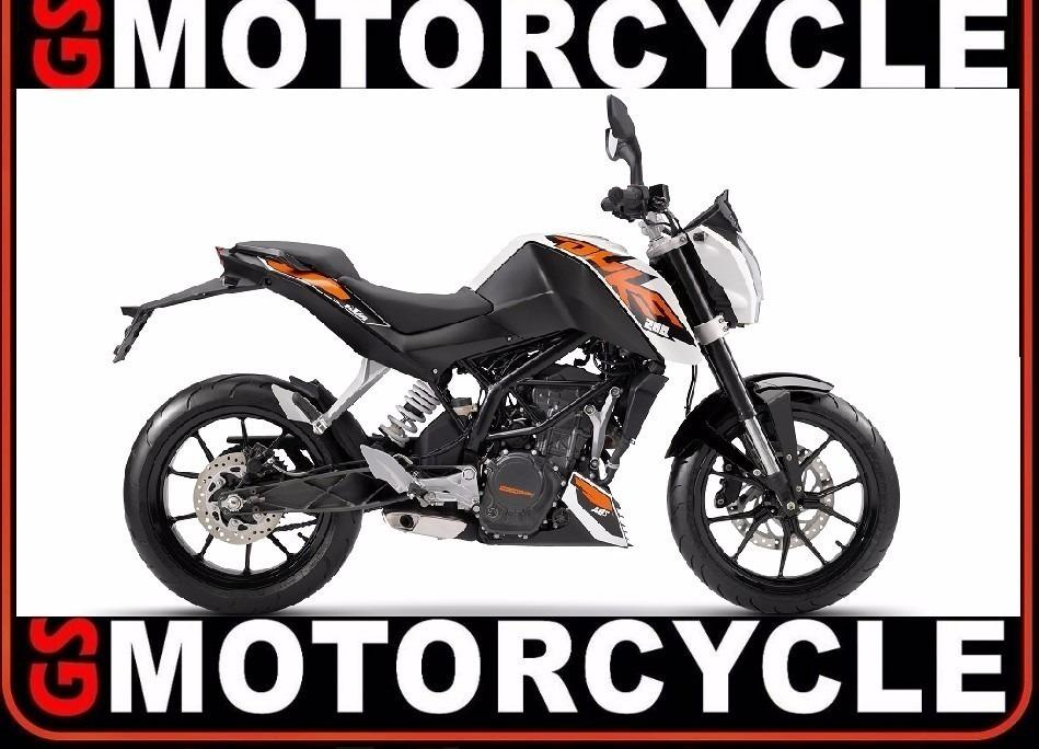 Ktm Duke 200 2016 0km Blanco / Naranja