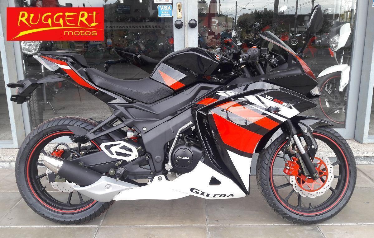 Gilera Vc 200 R Moto 0km Modelo 2016 Haedo Ruggeri Motos