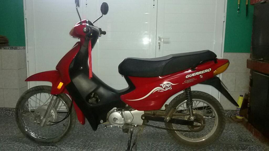 Moto Guerrero Trip G110