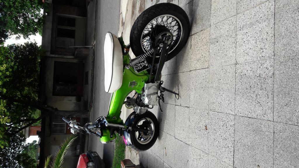 Motomel Max 110cc Solo para entendidos