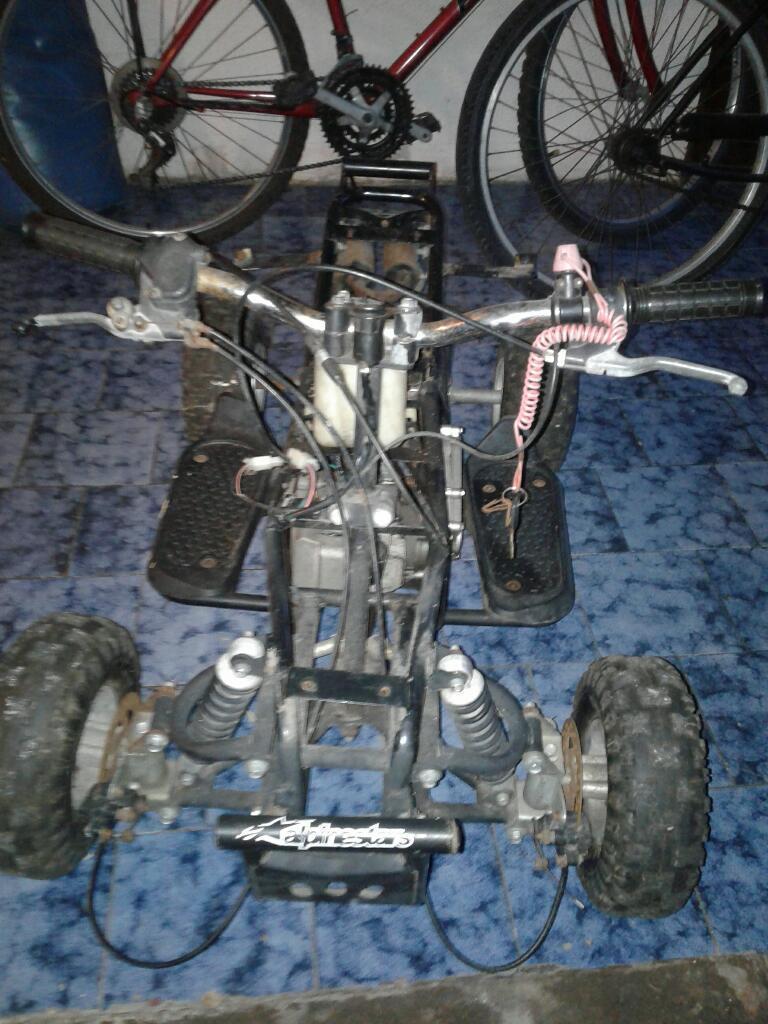 Cuatriciclo 49cc