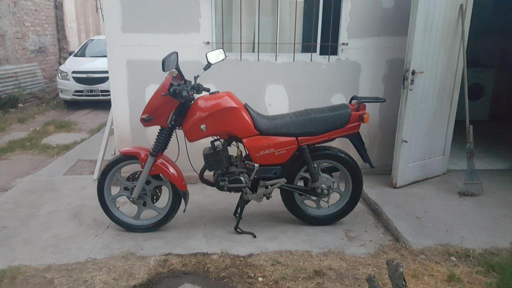 VENDO MOTO MZ SAXON SPORTSTAR 125 CC