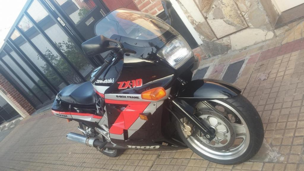 Vendo Kawasaki ZX10 1000 Unico!!