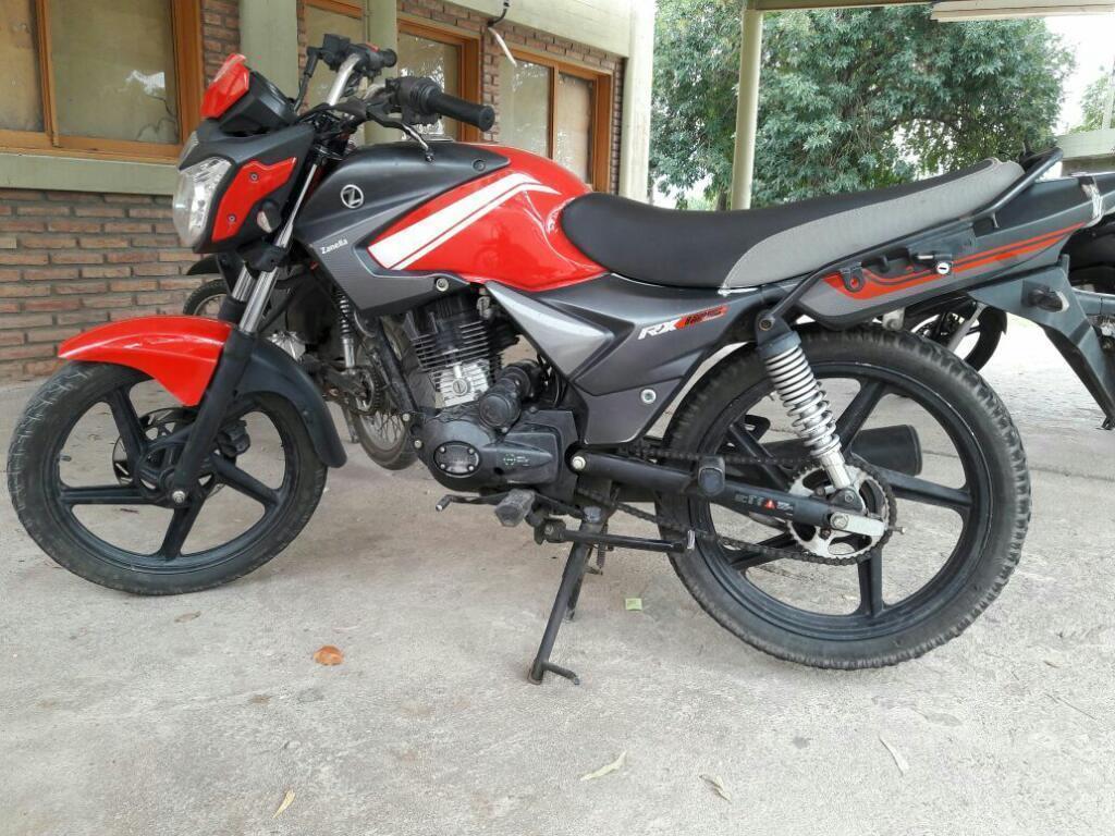 Vendo Moto Zanella 125 Modelo 2014
