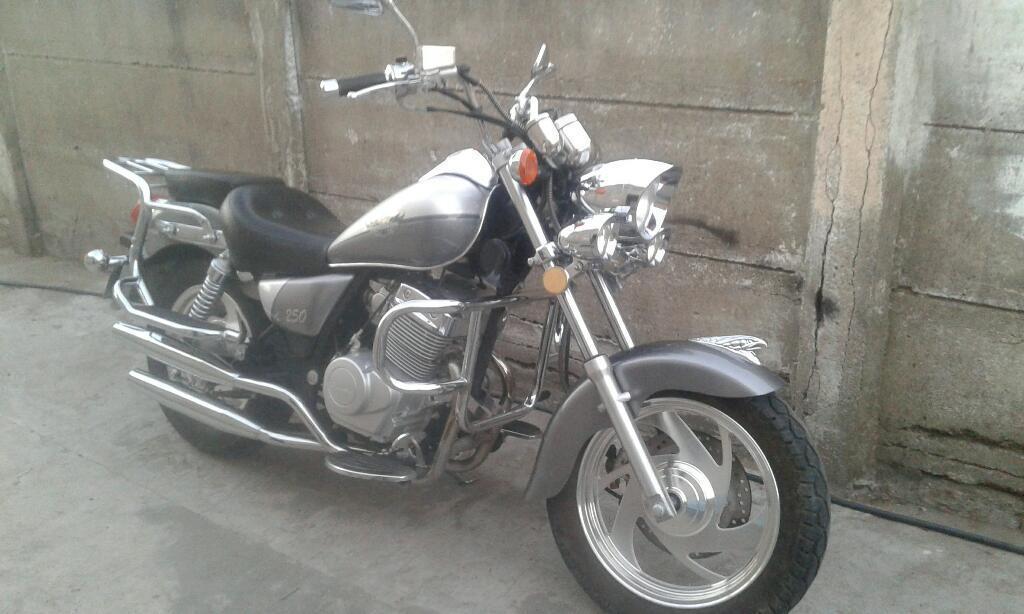 custom choper 250 cc