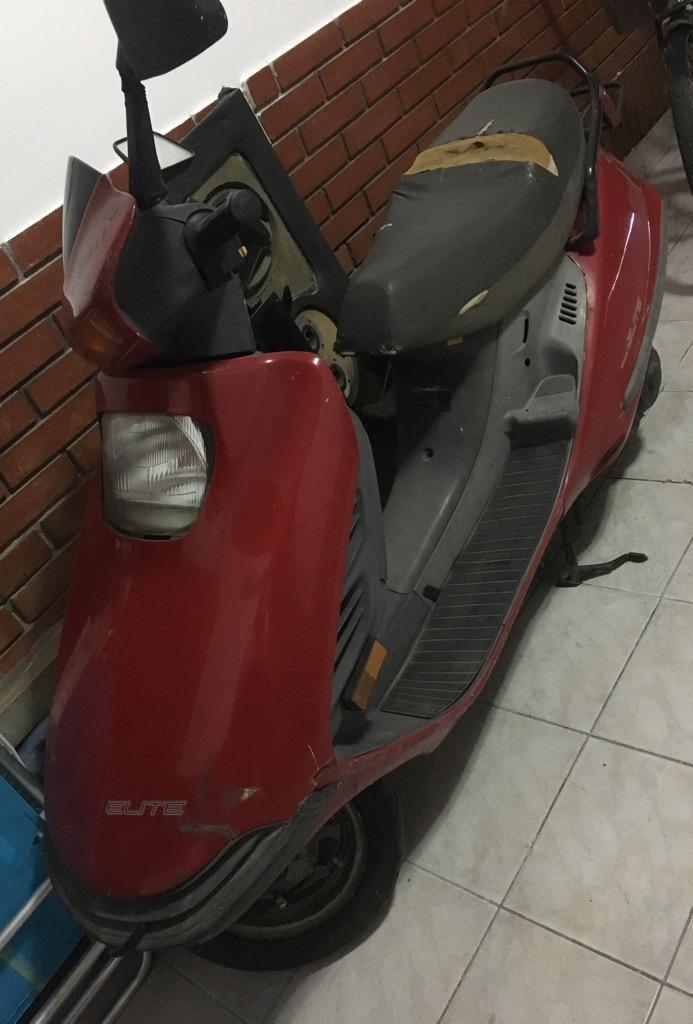 Moto Honda Elite no anda centrifugo ESCUCHO OFERTAS