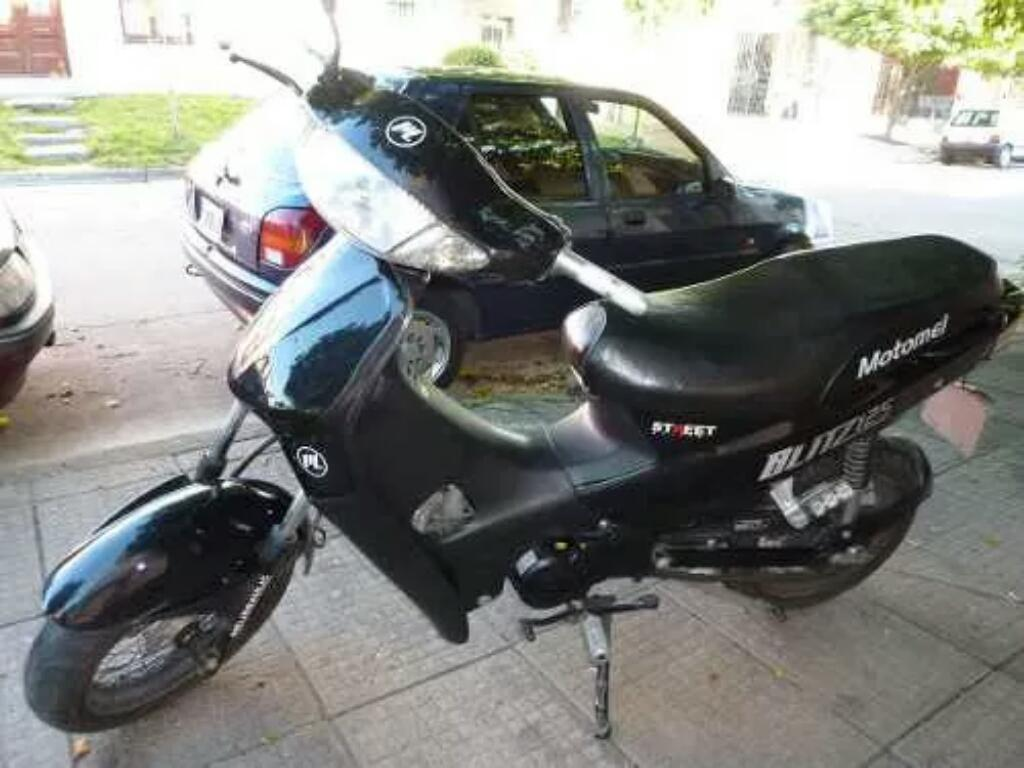 Moto Tunning 125 Negra