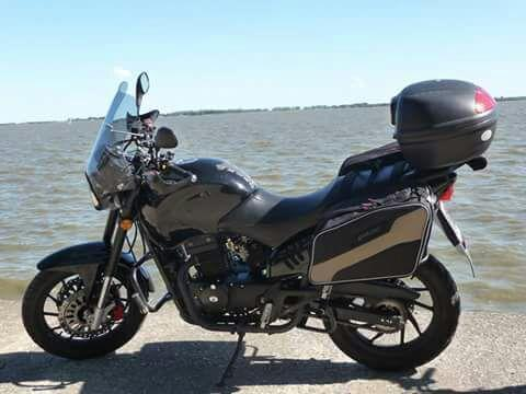 Moto Jawa 350 Ruta 40