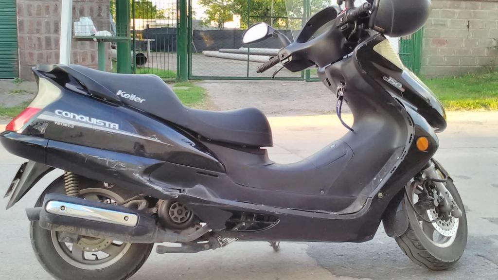 Vendo scooter keller 150 por viaje urgente en bahia blanca