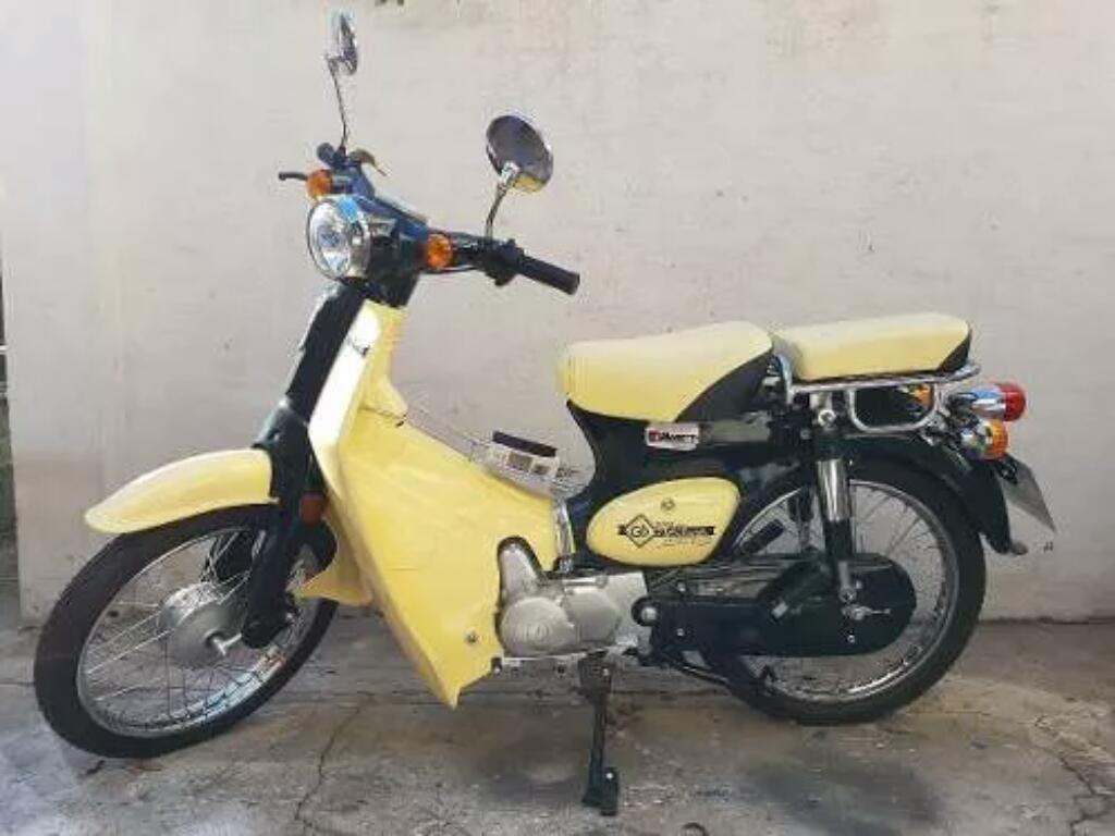 Moto Vintage 125 Motomel Impecable 2015