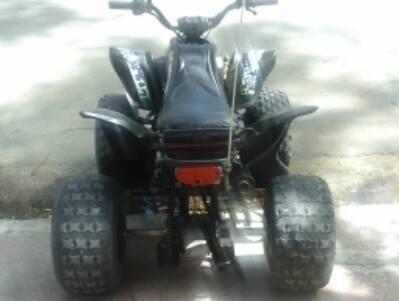 VENDO CUATRICICLO 2011, 110 cc Y TRAILLER
