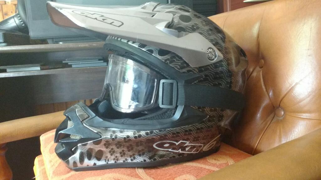 Vento Motomel 150 Y Casco Enduro Okn