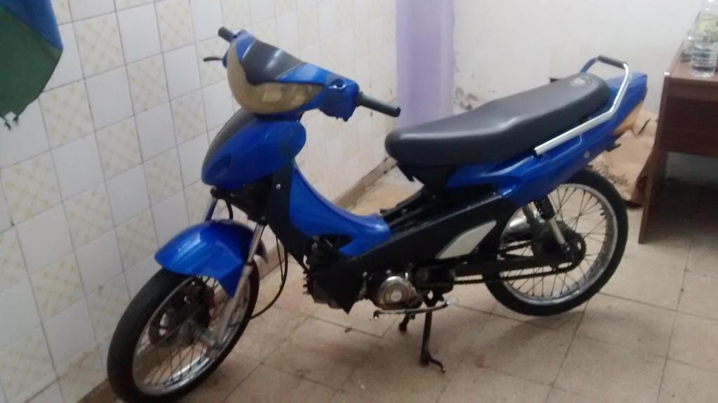 motocicleta 110cc guerrero